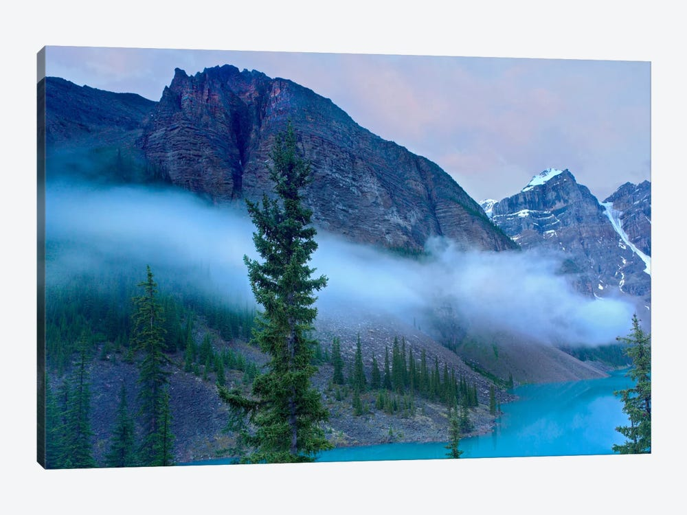 Moraine Lake In The Valley Of Ten Peaks, Banff National Park, Alberta, Canada by Tim Fitzharris 1-piece Canvas Art Print