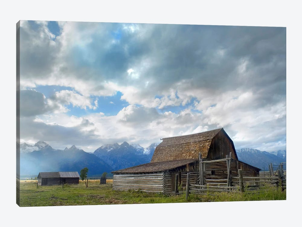 Mormon Row Barn, Grand Teton National Park, Wyoming I by Tim Fitzharris 1-piece Canvas Wall Art