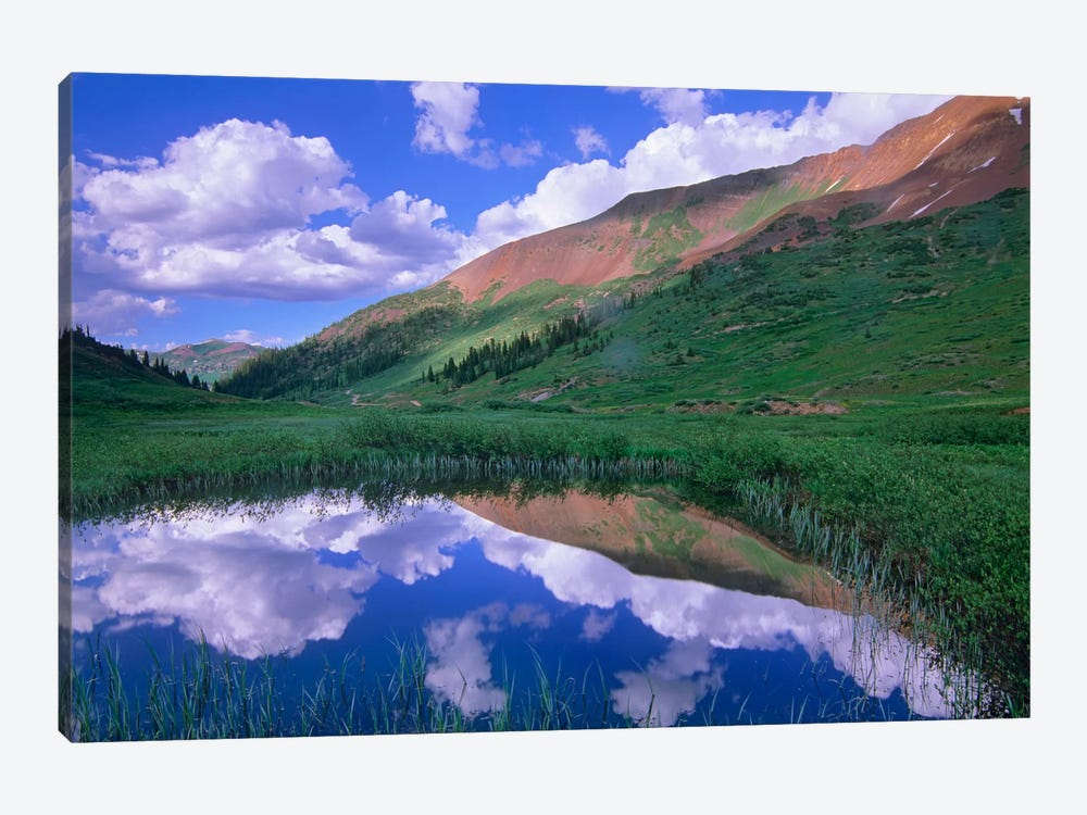 Mount Baldy And Elk Mountains, Colorado by Tim Fitzharris 1-piece Canvas Art