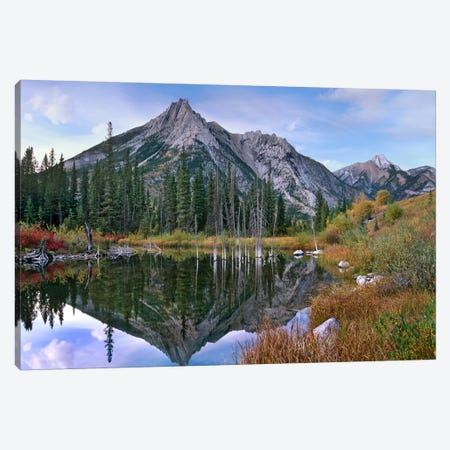 Mount Lorette, Alberta, Canada Canvas Print #TFI634} by Tim Fitzharris Canvas Artwork