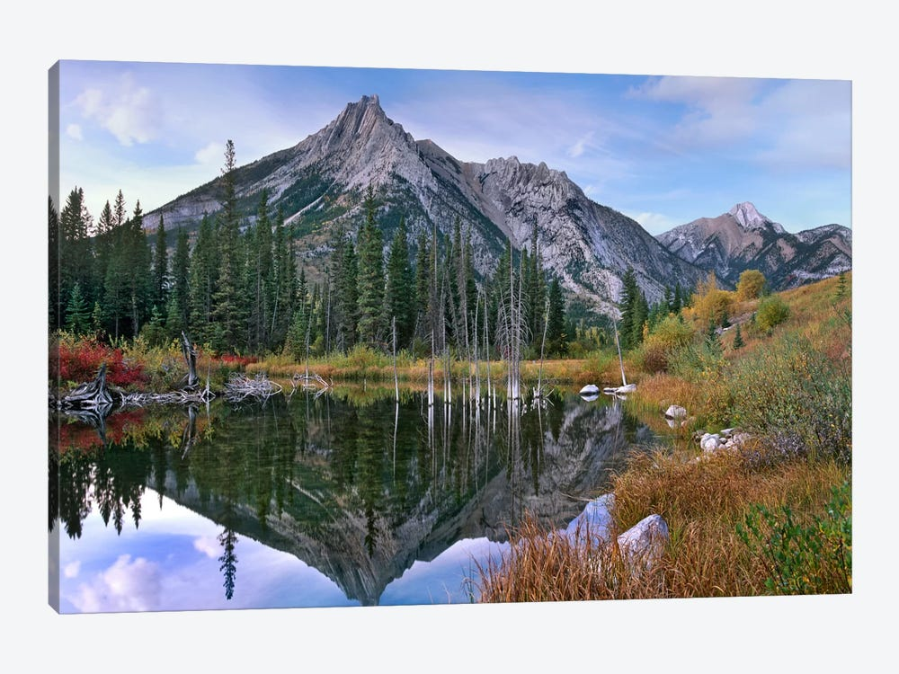 Mount Lorette, Alberta, Canada by Tim Fitzharris 1-piece Canvas Print