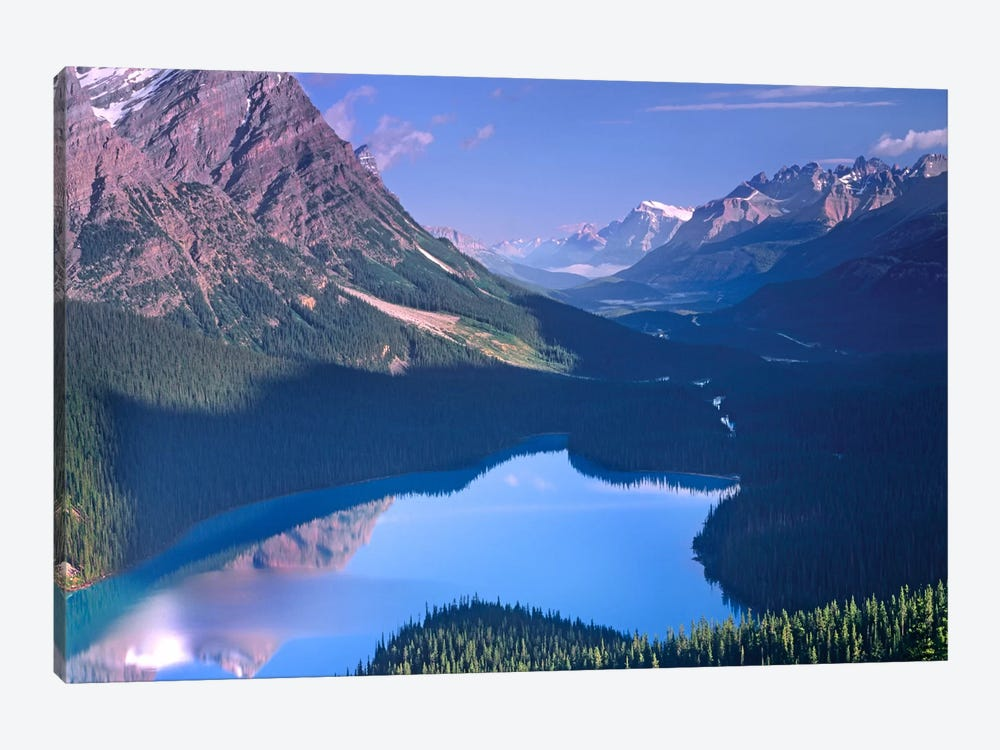 Mount Patterson At Peyto Lake, Banff National Park, Alberta, Canada by Tim Fitzharris 1-piece Canvas Wall Art