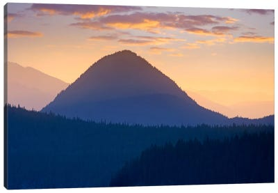 Mount Rainier From Sunrise Point, Mount Rainier National Park, Washington Canvas Art Print