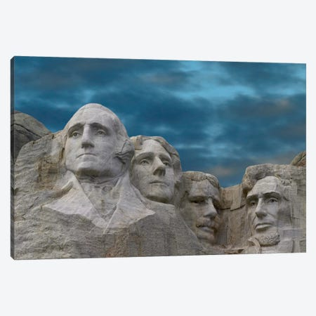 Mount Rushmore National Monument Near Keystone, South Dakota I Canvas Print #TFI644} by Tim Fitzharris Art Print
