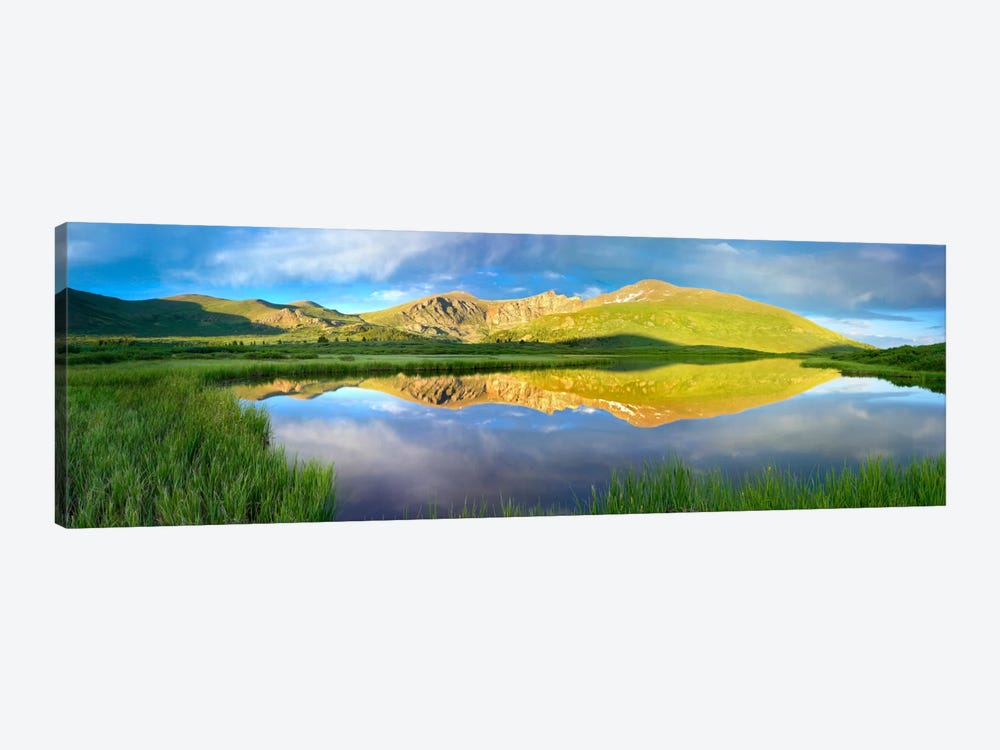 Mt Bierstadt As Seen From Guanella Pass, Colorado by Tim Fitzharris 1-piece Canvas Art