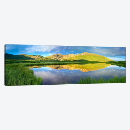 Mt Bierstadt As Seen From Guanella Pass, Colorado Canvas Print #TFI657} by Tim Fitzharris Canvas Artwork