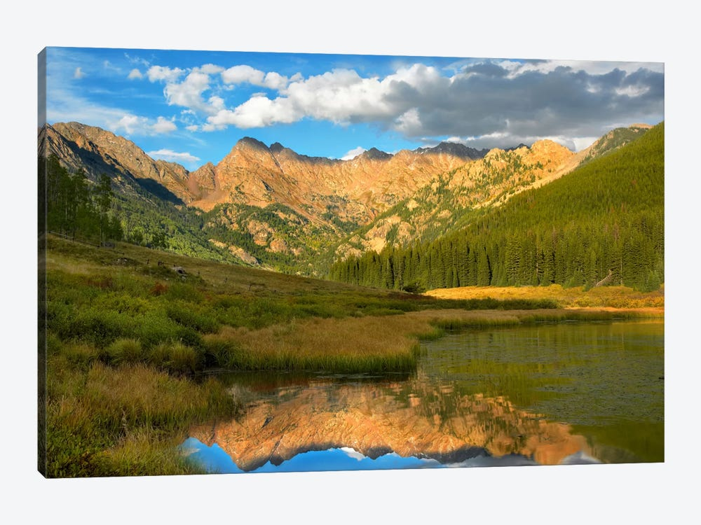 Mt Powell And Piney Lake, Colorado II by Tim Fitzharris 1-piece Canvas Wall Art
