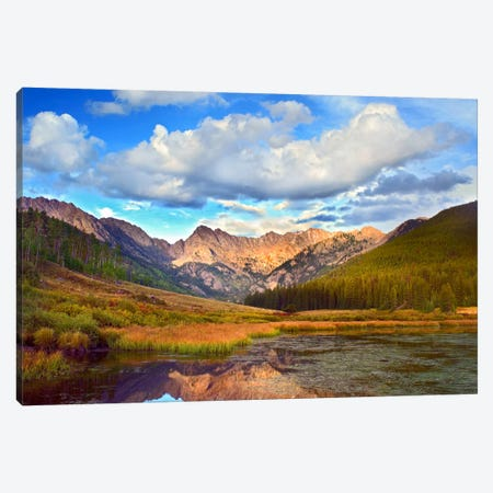 Mt Powell And Piney Lake, Colorado III Canvas Print #TFI663} by Tim Fitzharris Canvas Artwork