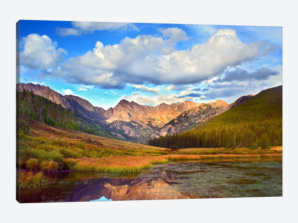 Mt Powell And Piney Lake, Colorado III by Tim Fitzharris 1-piece Canvas Art Print
