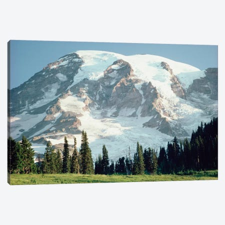Mt Rainier, Cascade Mountains, Washington Canvas Print #TFI669} by Tim Fitzharris Canvas Wall Art