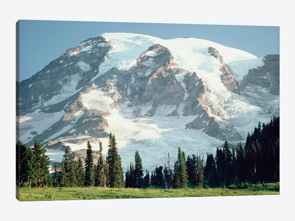 Mt Rainier, Cascade Mountains, Washington by Tim Fitzharris 1-piece Canvas Art Print