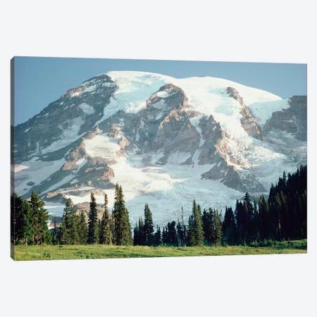 Mt Rainier, Cascade Mountains, Washington Canvas Print #TFI669} by Tim Fitzharris Canvas Wall Art