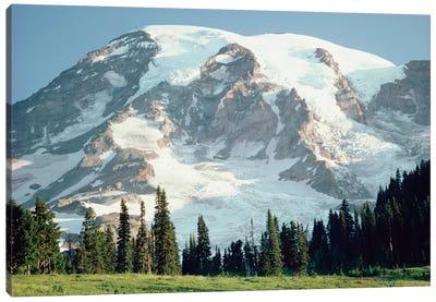 Mt Rainier, Cascade Mountains, Washington Canvas Art Print