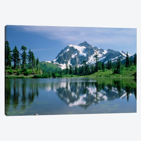 Mt Shuksan, Northern Cascade Mountains, Washington Canvas Print #TFI672} by Tim Fitzharris Canvas Art Print