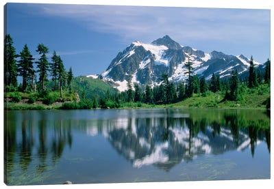Mt Shuksan, Northern Cascade Mountains, Washington Canvas Art Print