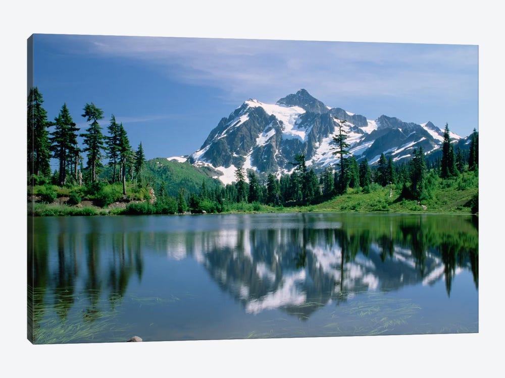Mt Shuksan, Northern Cascade Mountains, Washington by Tim Fitzharris 1-piece Art Print