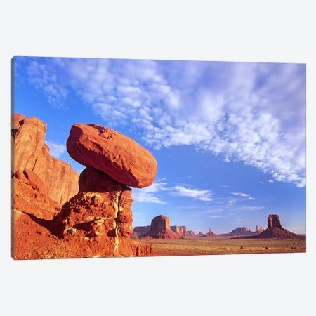Mushroom Rock In Monument Valley Najavo Tribal Park, Arizona Canvas Print #TFI678} by Tim Fitzharris Canvas Art Print