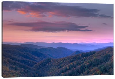 Newfound Gap, Great Smoky Mountains National Park, North Carolina Canvas Art Print