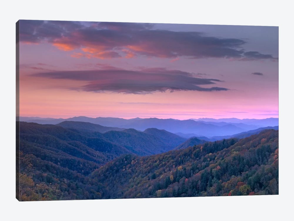 Newfound Gap, Great Smoky Mountains National Park, North Carolina by Tim Fitzharris 1-piece Art Print