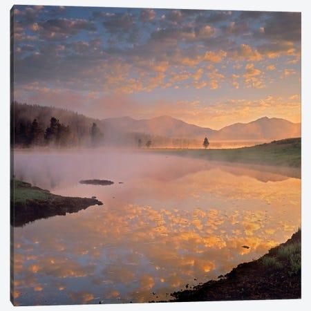 Absaroka Range From Alum Creek, Yellowstone National Park, Wyoming Canvas Print #TFI6} by Tim Fitzharris Canvas Print