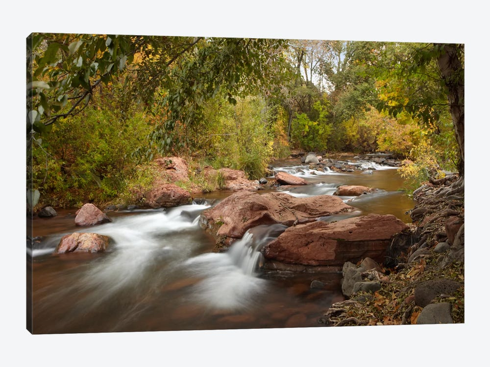 Oak Creek In Slide Rock State Park Near Sedona, Arizona II 1-piece Canvas Art