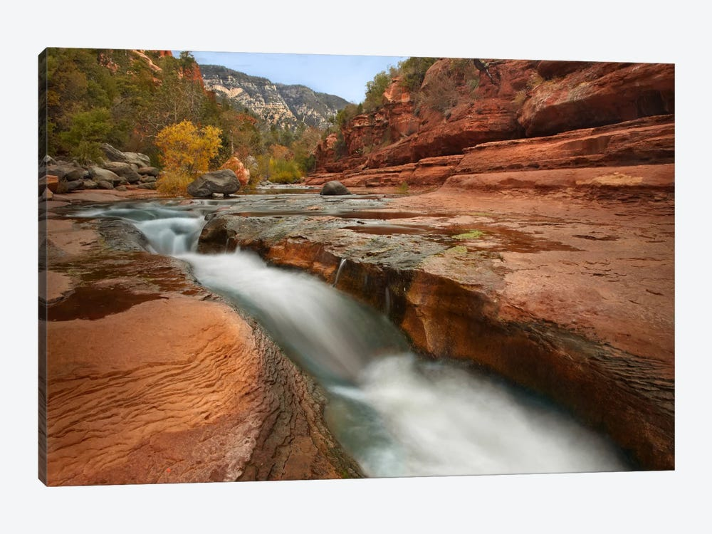 Oak Creek In Slide Rock State Park Near Sedona, Arizona III by Tim Fitzharris 1-piece Art Print
