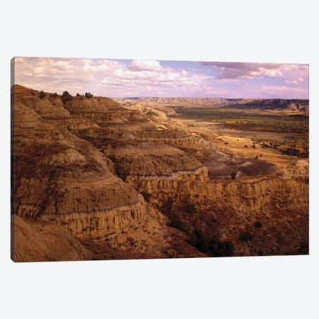 Badlands In Theodore Roosevelt National Park, North Dakota Canvas Print #TFI71} by Tim Fitzharris Canvas Art Print
