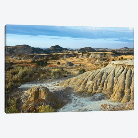 Badlands, South Unit, Theodore Roosevelt National Park, North Dakota Canvas Print #TFI72} by Tim Fitzharris Canvas Print