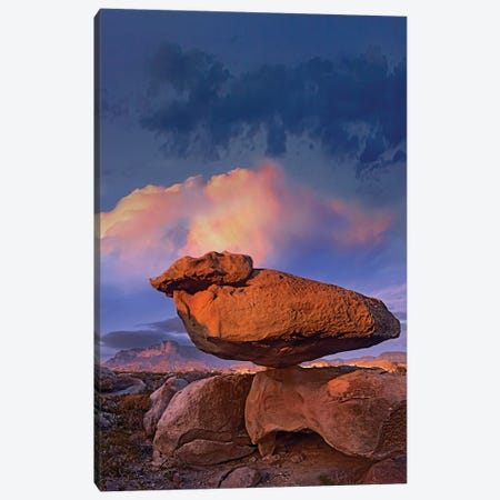 Balancing Rock Formation, Guadalupe Mountains National Park, Texas Canvas Print #TFI73} by Tim Fitzharris Art Print