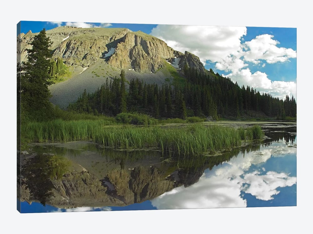 Palmyra Peak Reflected In Alta Lake, Colorado by Tim Fitzharris 1-piece Canvas Artwork