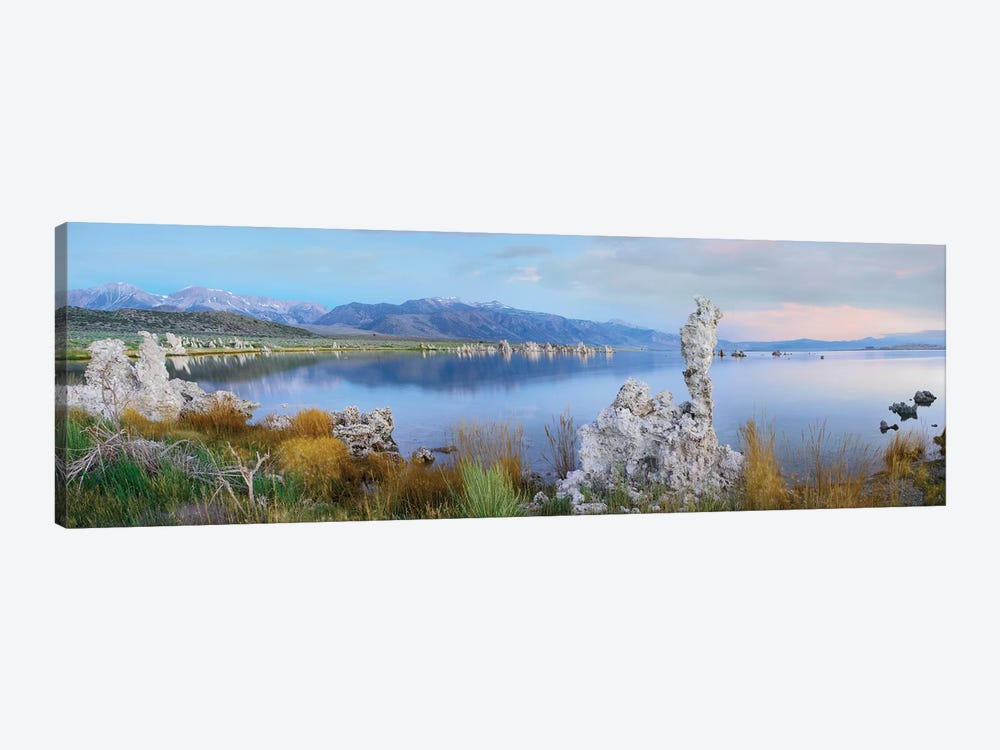 Panorama Of Tufa Towers At Mono Lake With The Eastern Sierra Nevada In The Background, California by Tim Fitzharris 1-piece Canvas Artwork