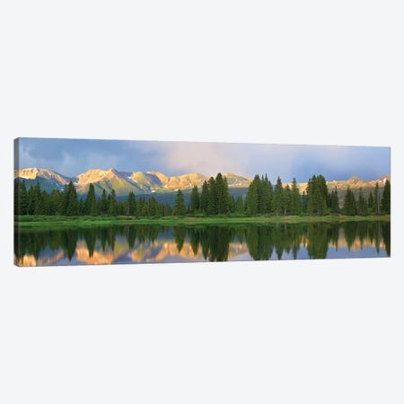 Panorama Of West Needle Mountains, Weminuche Wilderness, Colorado Canvas Print #TFI770} by Tim Fitzharris Canvas Wall Art