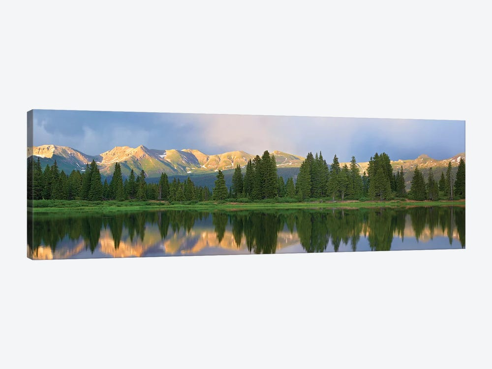 Panorama Of West Needle Mountains, Weminuche Wilderness, Colorado by Tim Fitzharris 1-piece Canvas Art