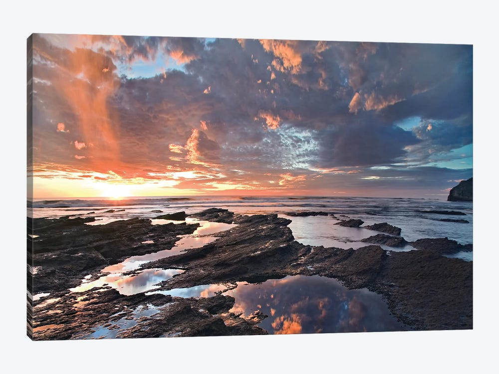 Pelada Beach At Sunset, Costa Rica by Tim Fitzharris 1-piece Canvas Art