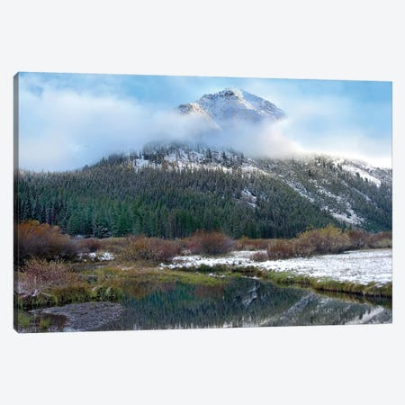 Phi Kappa Mountain And Summit Creek, Idaho Canvas Print #TFI788} by Tim Fitzharris Canvas Print