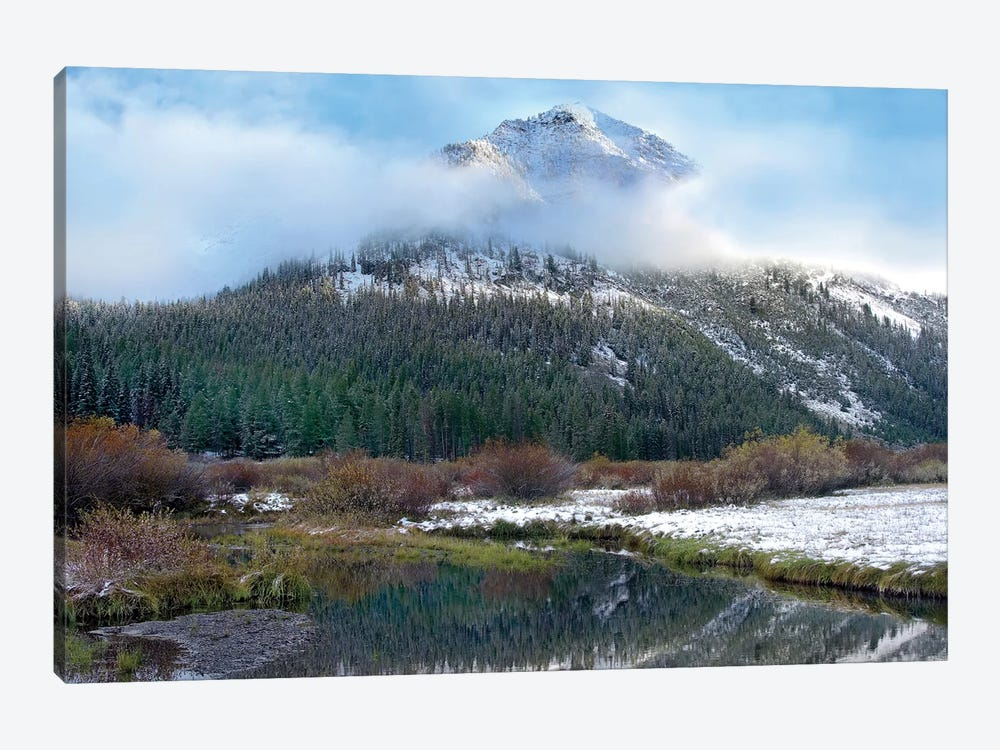 Phi Kappa Mountain And Summit Creek, Idaho by Tim Fitzharris 1-piece Canvas Art Print