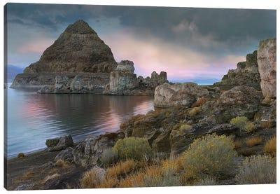 Pyramid Lake, Nevada Canvas Art Print