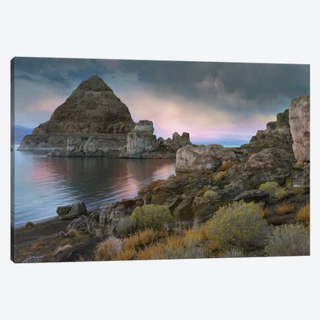Pyramid Lake, Nevada Canvas Print #TFI820} by Tim Fitzharris Canvas Wall Art