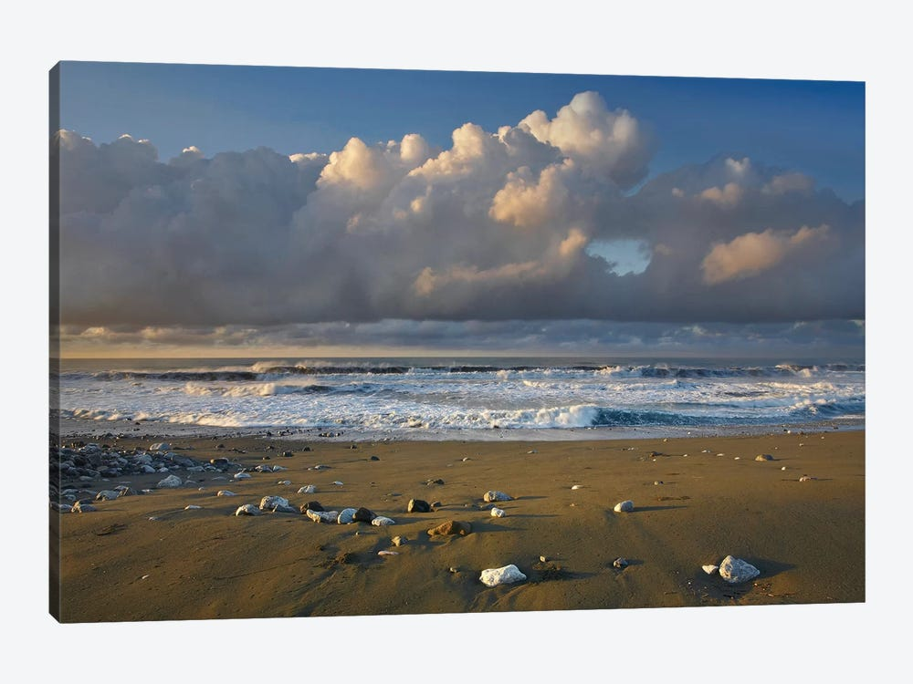 Beach And Waves, Corcovado National Park, Costa Rica by Tim Fitzharris 1-piece Canvas Art