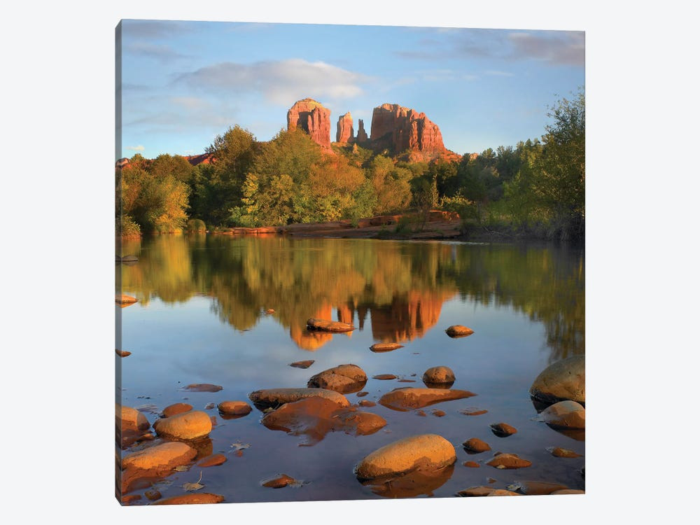 Red Rock Crossing, Arizona by Tim Fitzharris 1-piece Canvas Wall Art