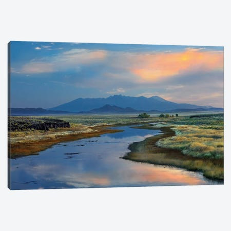 Rio Grande And Sangre De Cristo Mountains, Colorado Canvas Print #TFI885} by Tim Fitzharris Canvas Print