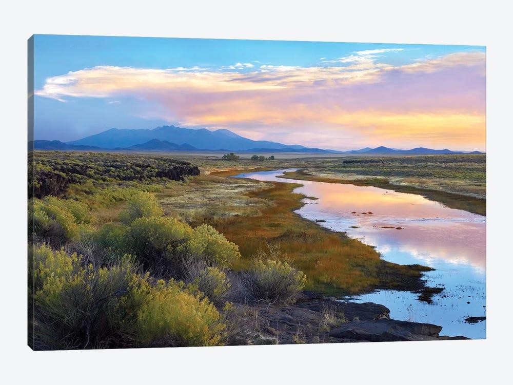 Rio Grande And The Sangre De Cristo Mountains, Colorado by Tim Fitzharris 1-piece Canvas Print