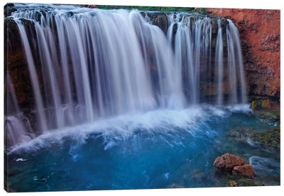 Rock Falls, Havasu Canyon, Arizona Canvas Art Print