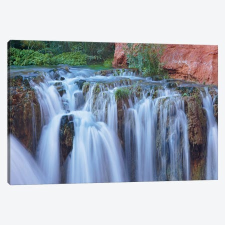 Rock Falls, Havasu Canyon, Grand Canyon National Park, Arizona Canvas Print #TFI895} by Tim Fitzharris Canvas Wall Art