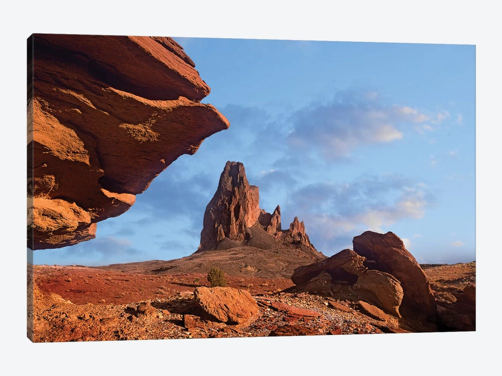 Rock Formation, Monument Valley, Arizona by Tim Fitzharris 1-piece Canvas Art Print