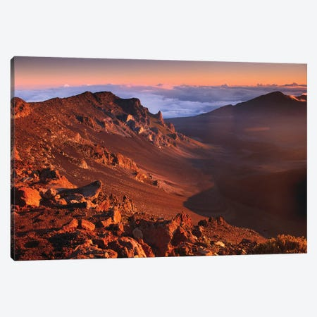 Rock Of Haleakala Crater, Haleakala National Park, Maui, Hawaii Canvas Print #TFI898} by Tim Fitzharris Art Print