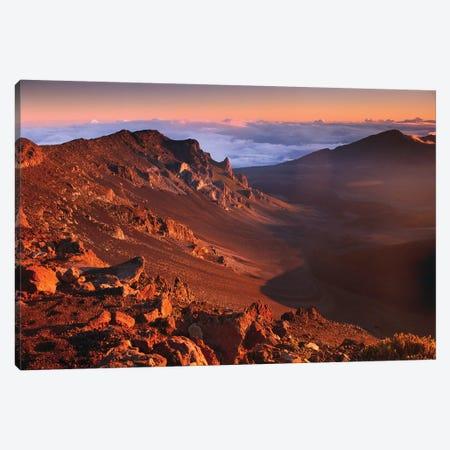 Rock Of Haleakala Crater, Haleakala National Park, Maui, Hawaii Canvas Print #TFI898} by Tim Fitzharris Art Print