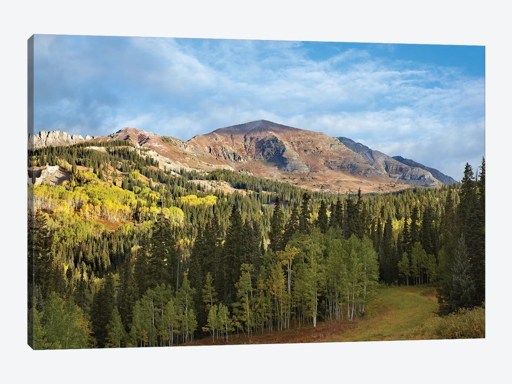 Ruby Peak Near Crested Butte, Colorado by Tim Fitzharris 1-piece Canvas Art
