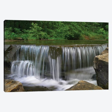 Sand Creek Cascades In Osage Hills State Park, Oklahoma Canvas Print #TFI950} by Tim Fitzharris Canvas Wall Art