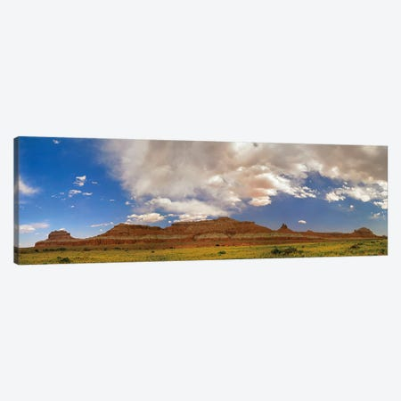 Big Wild Horse Mesa Near Goblin Valley, Utah Canvas Print #TFI95} by Tim Fitzharris Canvas Wall Art